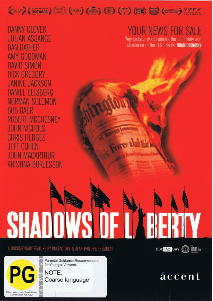 Shadows of Liberty on DVD image