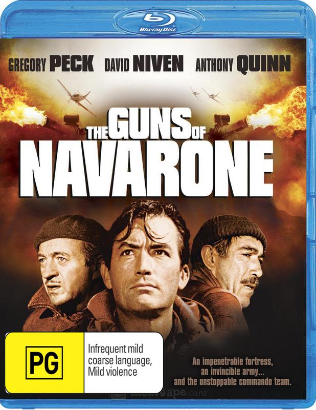 The Guns of Navarone on Blu-ray