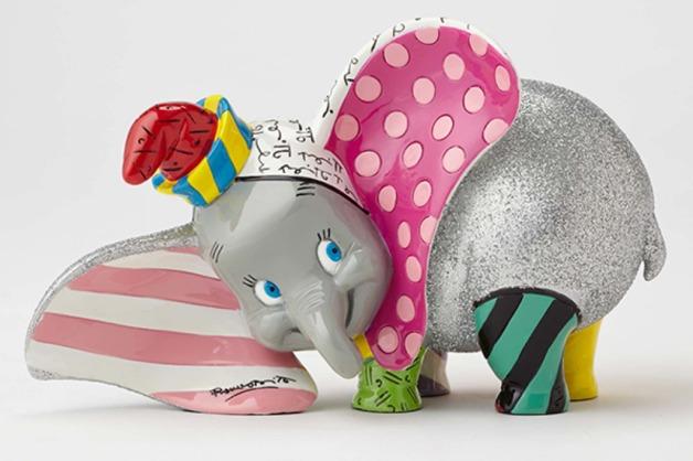 Romero Britto: Dumbo - Medium Figurine