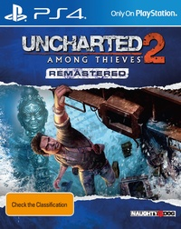 Uncharted 2: Among Thieves Re-mastered for PS4