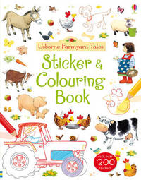 Farmyard Tales Colouring and Sticker Book by Felicity Brooks