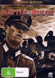 Ultimate Battles - Battle of the Bulge on DVD image