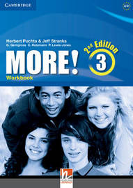 More! Level 3 Workbook by Herbert Puchta