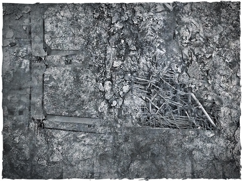DeepCut Studio City Ruins PVC Mat (4x4) image