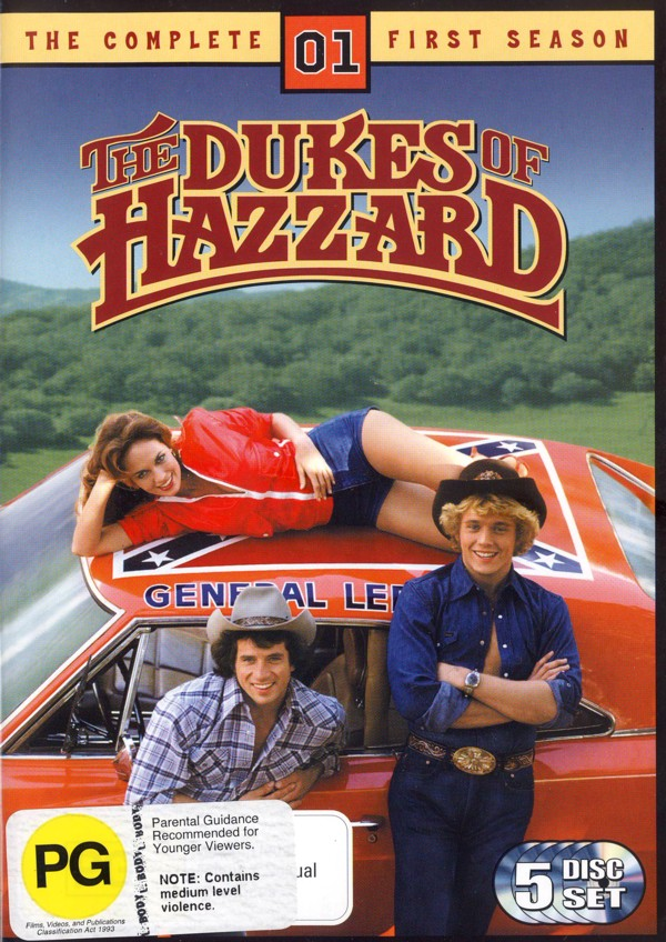 Dukes of Hazzard, The - Complete Season 1 (5 Disc) on DVD image