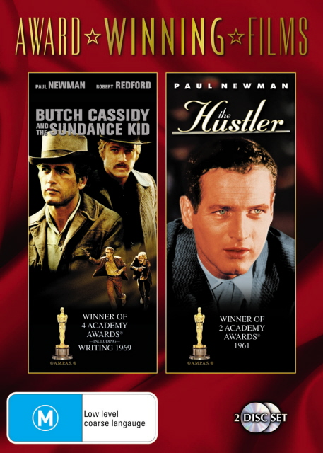 Butch Cassidy And The Sundance Kid / The Hustler (Award Winning Films) (2 Disc Set) on DVD image
