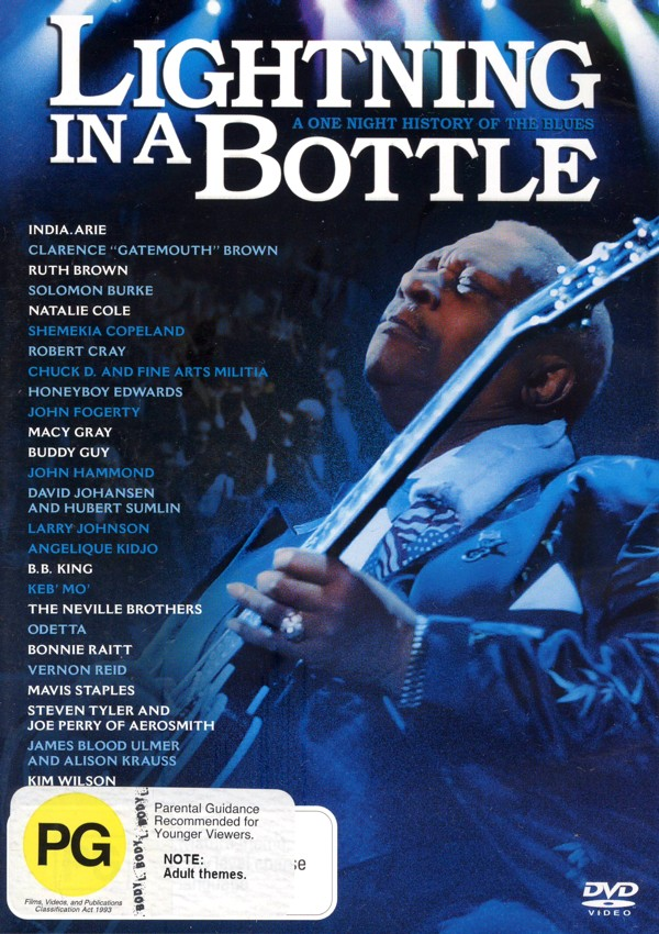 Lightning In A Bottle on DVD image