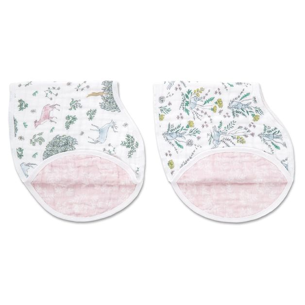 Aden + Anais: Classic Burpy Bib - Forest Fantasy (2 Pack)