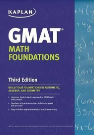 Kaplan GMAT Math Foundations by Kaplan