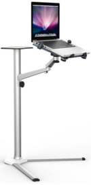 Gorilla Arms Laptop Floor Stand with Tray
