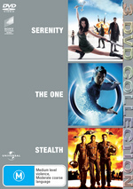Serenity / The One / Stealth - 3 DVD Collection (3 Disc Set) on DVD