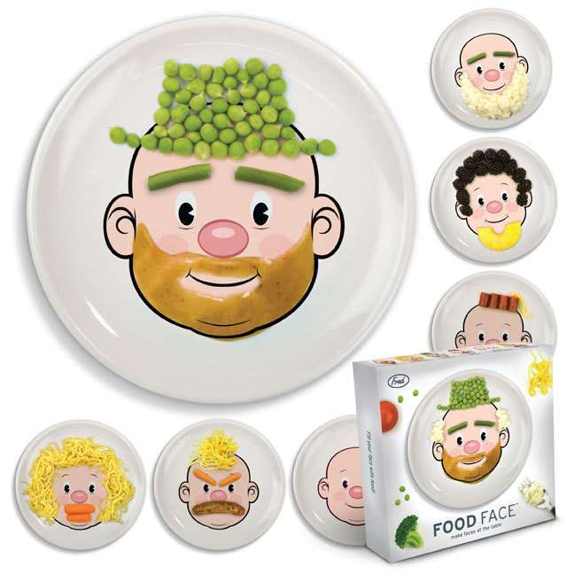 Fred - Food Face Dinner Plate image