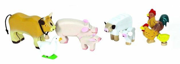 Le Toy Van: Budkins - Farm Animals Set