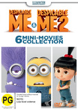 Despicable Me 1 & 2 Mini Movies Collection DVD