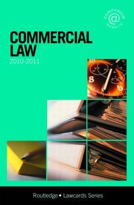 Commercial Lawcards: 2010-2011