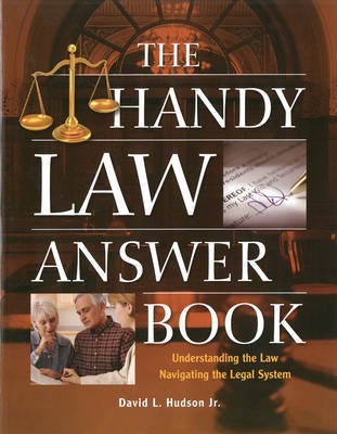 The Handy Law Answer Book by David L Hudson image