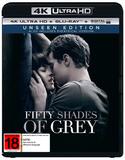 Fifty Shades of Grey (4K UHD + Blu-ray) DVD