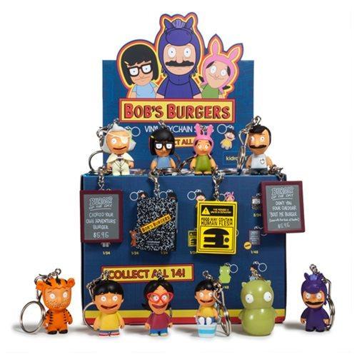 Bob's Burgers: Mini-Figure - Key Chain (Blind Box)