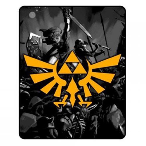 Legend of Zelda - Crest Throw Blanket