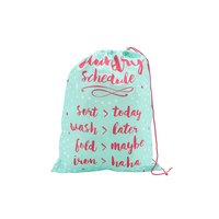 Oh So Pretty 'Laundry Schedule' Laundry Bag