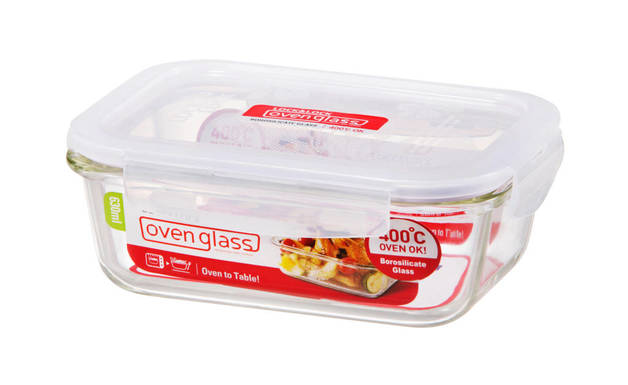 Lock n Lock Glass Euro Rectangle Container
