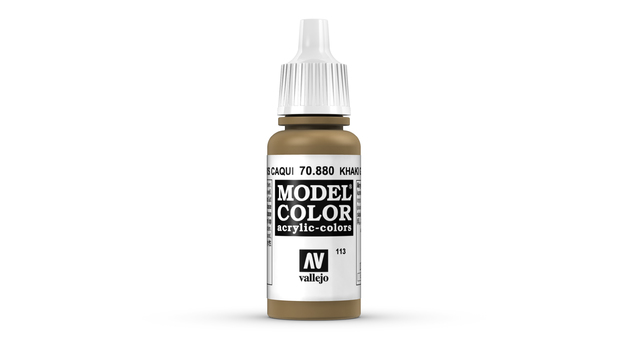 Vallejo Model Colour Khaki Grey 17ml