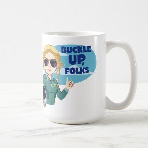 Captain Marvel: Mug Buckle Up