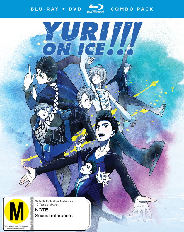 Yuri!!! On Ice Complete Series Dvd / Blu-ray Combo on DVD, Blu-ray