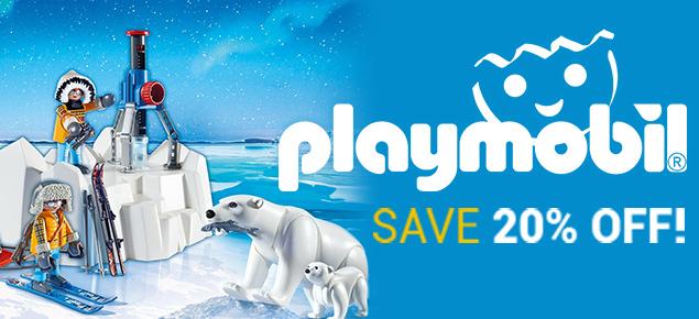 20% off Playmobil!