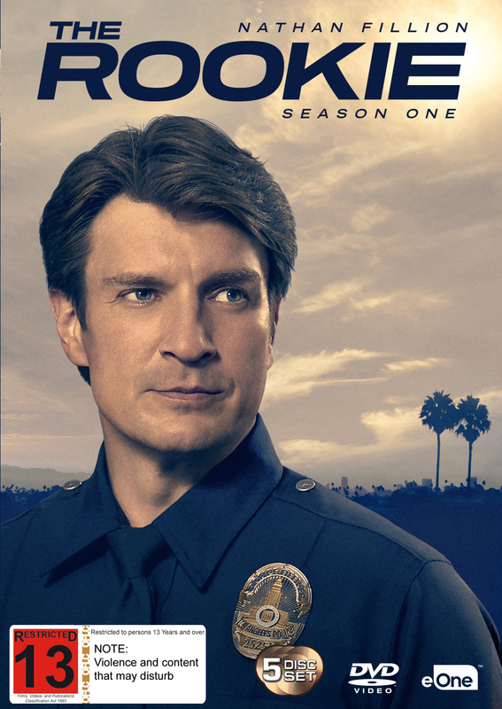 The Rookie: The Complete First Season on DVD