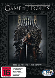 Game of Thrones - The Complete First Season on DVD