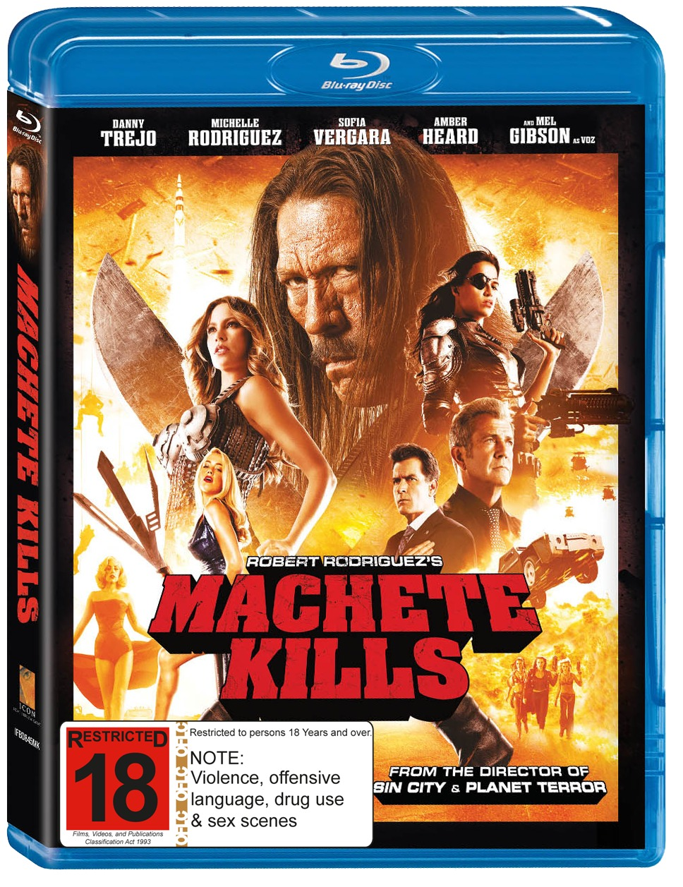 Machete Kills on Blu-ray image