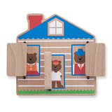 Melissa & Doug: Baby and Toddler Peek a Boo House