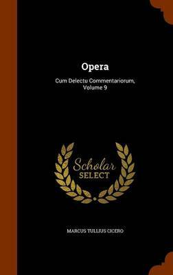 Opera by Marcus Tullius Cicero image