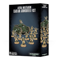 Warhammer 40,000 Astra Militarum Cadian Armoured Fist image