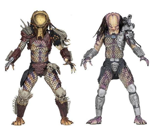 Predator: Bad Blood - Bad Blood & Enforcer - Ultimate Figure Set