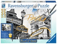 Ravensburger : Golden Paris Puzzle 1200pc