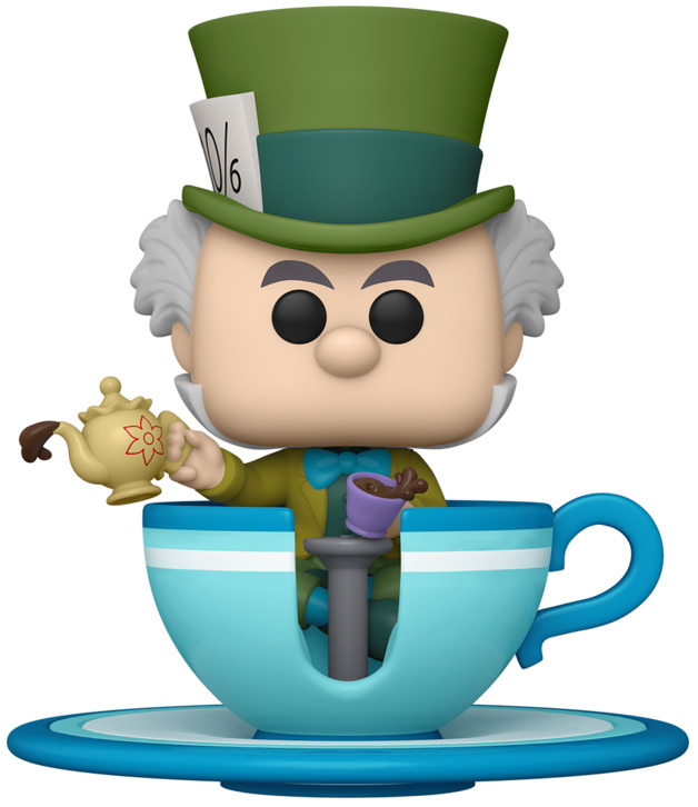 Disneyland: Mad Hatter in Teacup - Pop! Ride Figure
