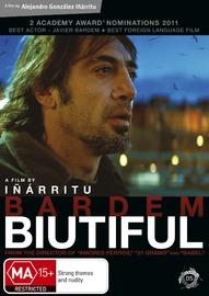 Biutiful on DVD
