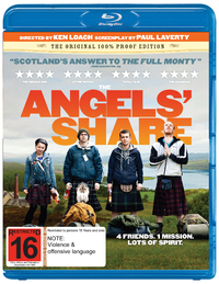 The Angels' Share on Blu-ray