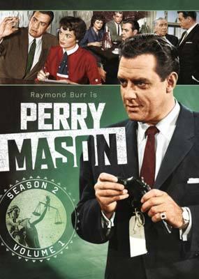 Perry Mason - Season 2 - Volume 1 (4 Disc Set) on DVD
