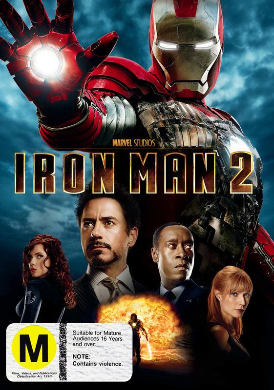 Iron Man 2 on DVD