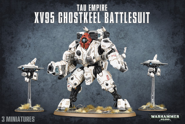 Warhammer 40,000 Tau Empire -XV95 Ghostkeel Battlesuit