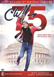 Cliff Richard 75th Birthday Concert Royal Albert Hall on Blu-ray
