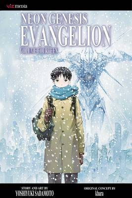 Neon Genesis Evangelion vol.14 Limited Edition JAPAN Yoshiyuki Sadamoto manga