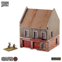 ColorED Scenery: Europe at War Small Shop (15mm)