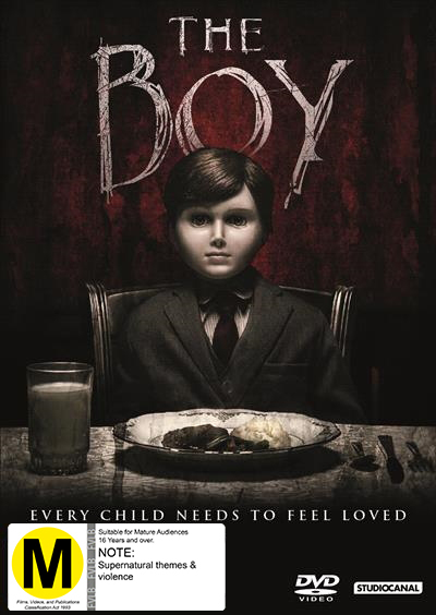The Boy on DVD
