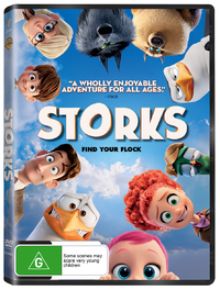 Storks on DVD image
