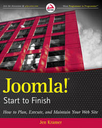 Joomla! Start to Finish by Jen Kramer image