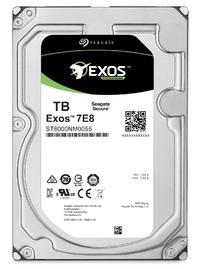 """6TB Seagate: Exos 7E8 [512E, 6Gb/s SATA, 3.5"""" 7200RPM]- Enterprise Hard Drive"""